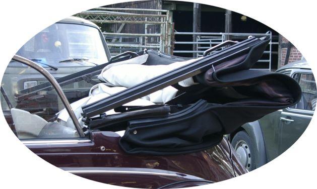 vw k fer cabrio 1500 1302 verdeck rahmen dichtung. Black Bedroom Furniture Sets. Home Design Ideas
